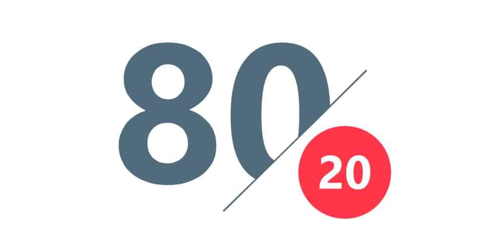 regra do 80/20